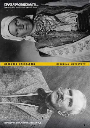 Exposição Retratos Imigrantes