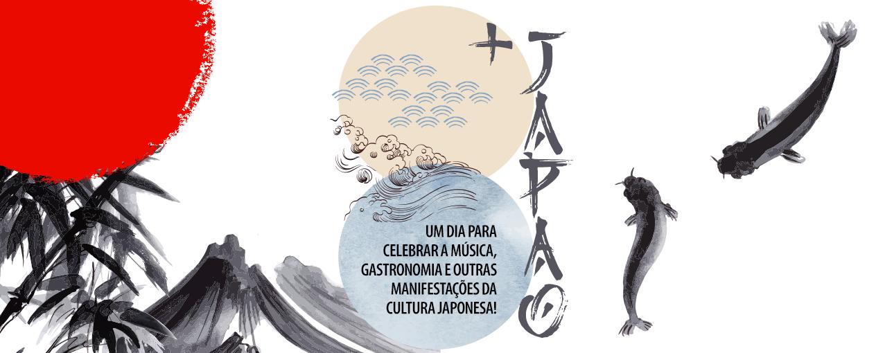 arte do evento + Japão