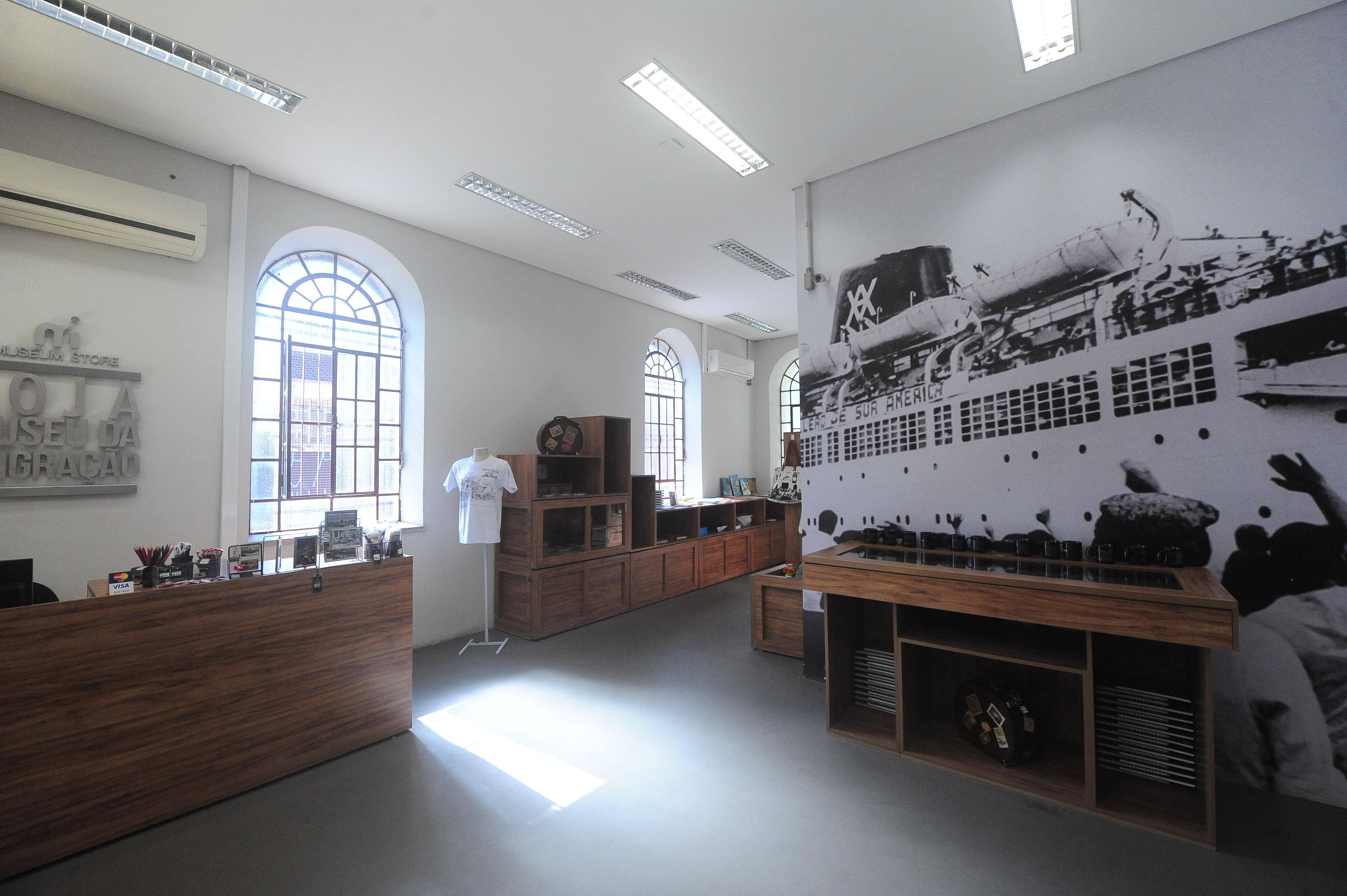 loja do museu